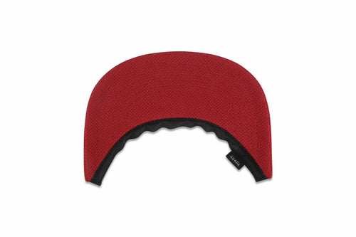 Fabric Visor Red