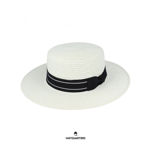 Boater Hat Cream