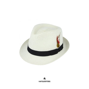 Summer Trilby White