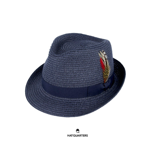 Summer Trilby Navy