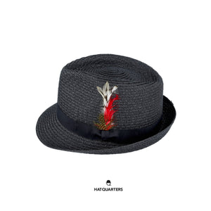 Summer Trilby Black