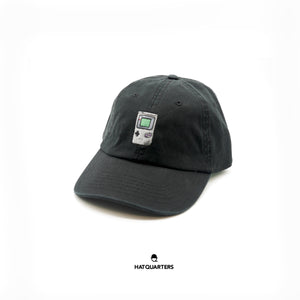 Gameboy Baseball Cap Black