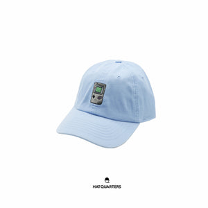 Gameboy Baseball Cap Baby Blue