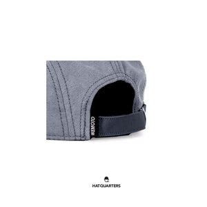 Wemoto 5 Panel Cap Grey Light Blue