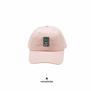 Gameboy Baseball Cap Pink