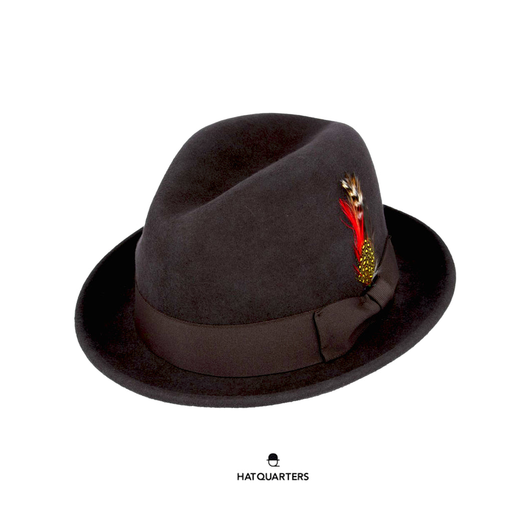 C Crown Crushable Hat Brown