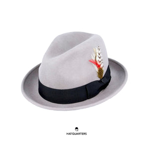 C Crown Crushable Hat Grey
