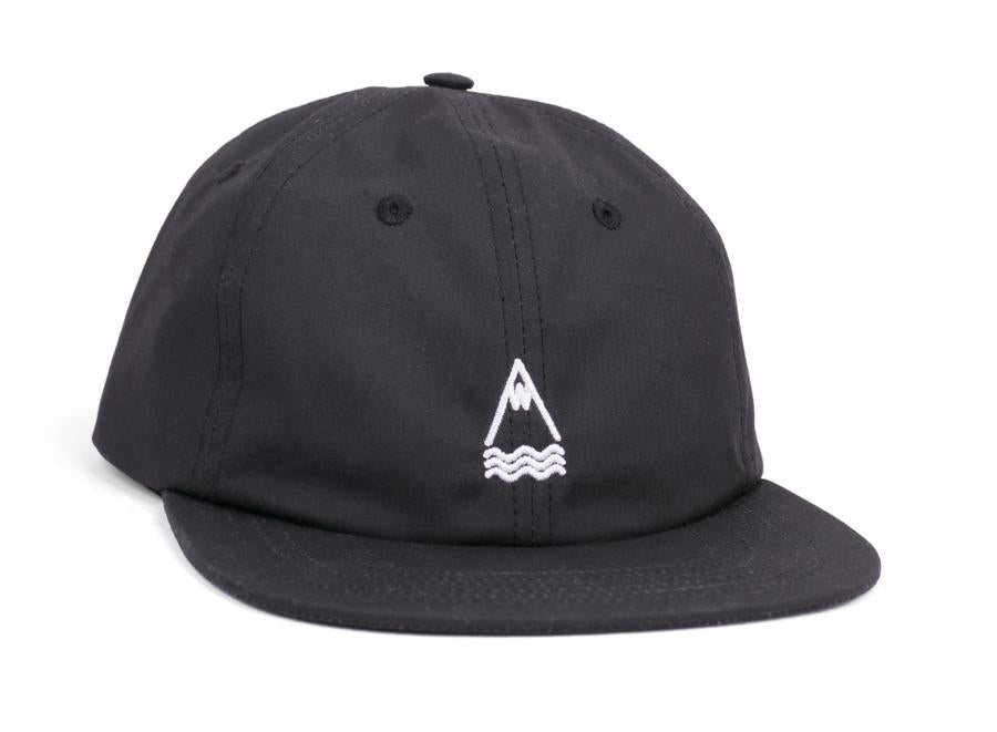 Laser Llacuna Summer Cotton Cap Black