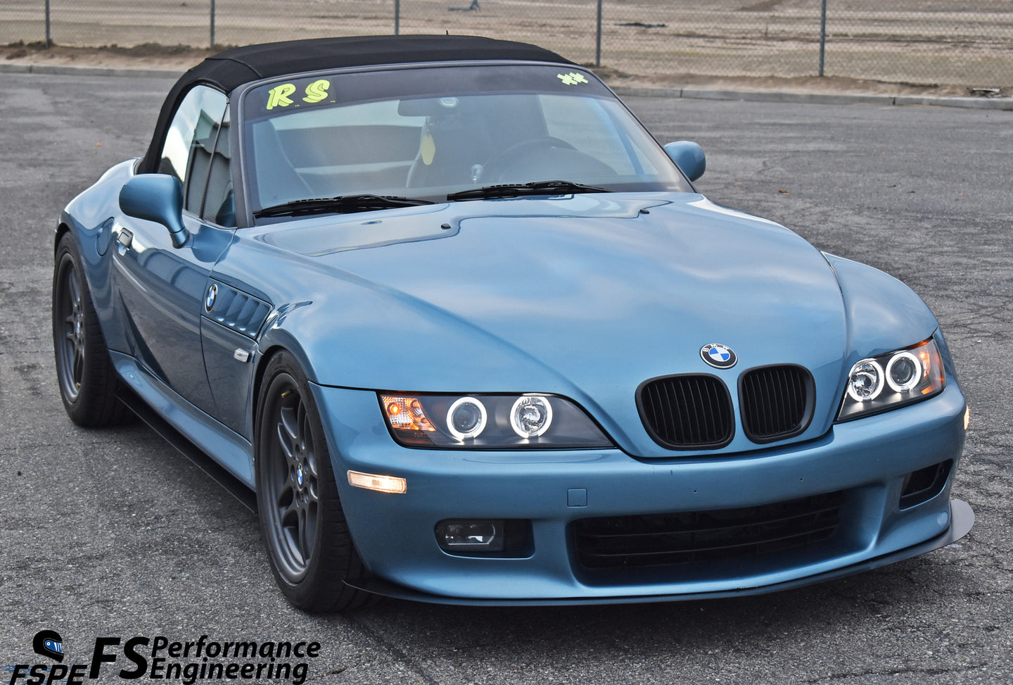 BMW Z3 (1995-2002) Collections Page - Aerodynamics Body Kit, splitter, side skirts, diffuser, canards, wing, spoiler.
