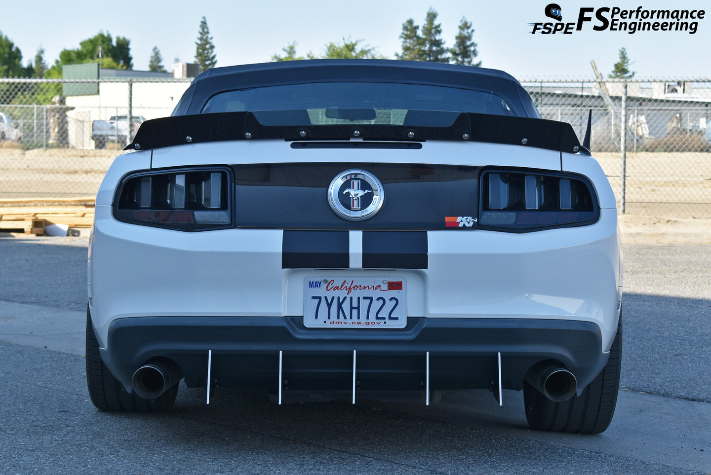 Ford Mustang Aerodynamics Collections Page - Splitter, Side Skirts, Rear Diffuser, Canards, Spoiler, Wickerbill