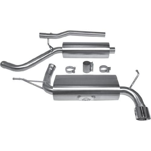 Jeep Wrangler JKU 2-Door (2007-2011) Catback Exhaust by Thermal R&D