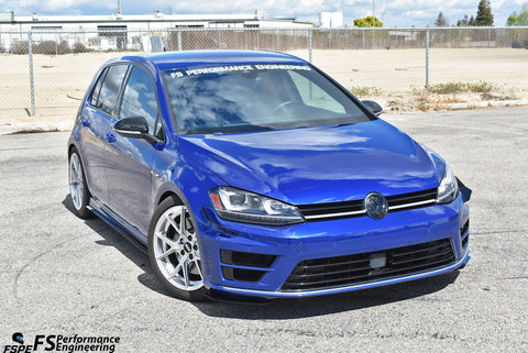 "Volkswagen MK7 (2015-2017) Golf R Canards (Dive Planes) ""Gills"" - FS Performance Engineering"