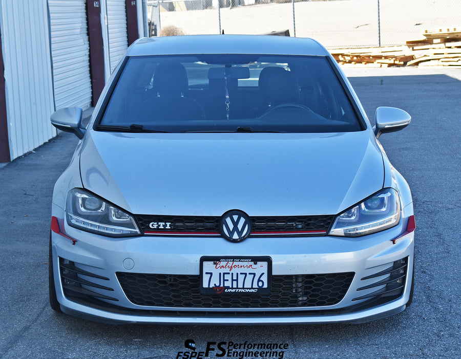 Volkswagen MK7 (2015-2017) Golf GTI Canards (Dive Planes) - FS Performance Engineering