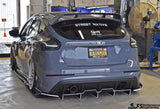 Ford Focus RS (2016-2018) Rear Diffuser V3
