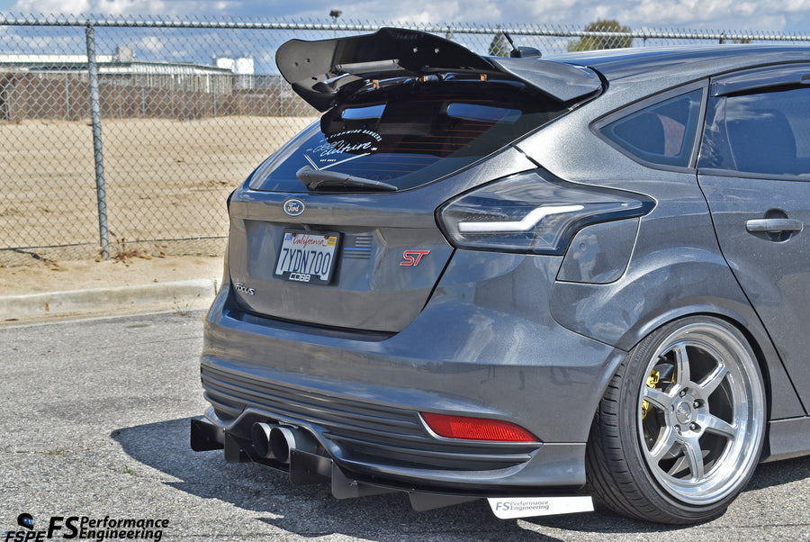 Ford Focus ST (2011-2018) Rear Diffuser V2 - FS Performance Engineering