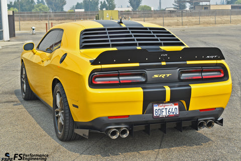 Dodge Challenger (2015-2020) Rear Diffuser