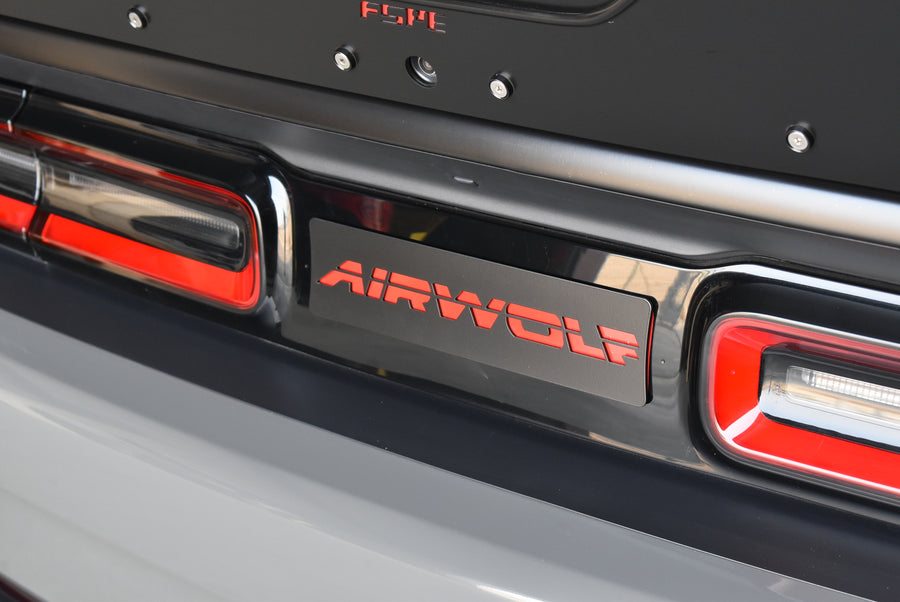 Dodge Challenger (2015+) Rear Badge Plate