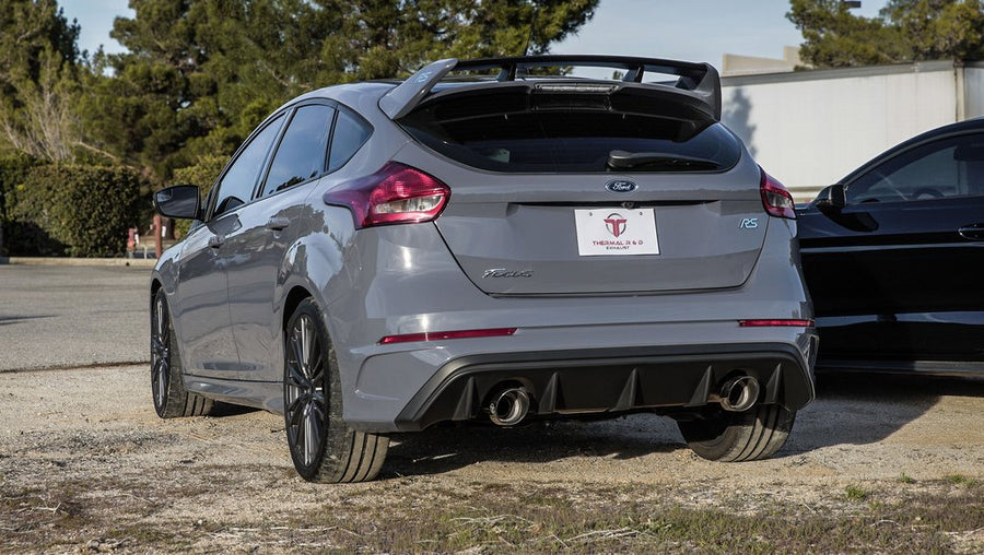 Ford Focus RS (2016-2018) Catback Exhaust by Thermal R&D