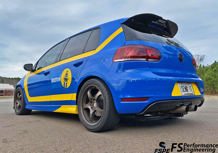 Volkswagen MK6 (2010-2014)  Golf GTI / R Rear Spoiler Extension - FS Performance Engineering