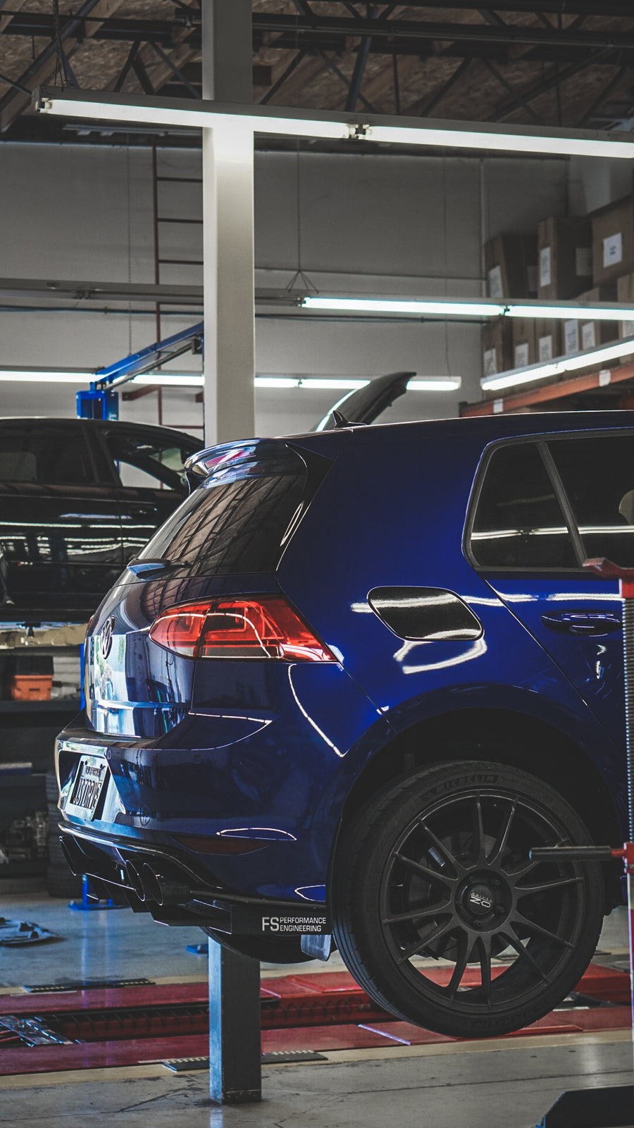 Volkswagen MK7 (2015-2017) Golf R Rear Diffuser - FS Performance Engineering