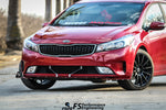 Kia Forte (2017-2018) Stacked Front Splitter V1 - FS Performance Engineering