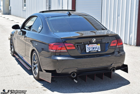 BMW 335i (E92) (2006-2012) Rear Diffuser - FS Performance Engineering