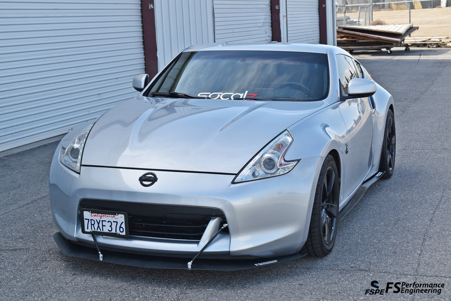 Nissan 370Z (2009-2019) Side Skirt Extensions V2 - FS Performance Engineering
