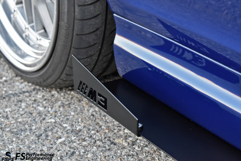 BMW E46 M3 (2000-2006) Side Skirt Extensions V1