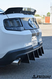 Ford Mustang (2010-2012) Rear Diffuser Fins (V6 Model)