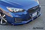 Subaru Impreza Hatchback (2016-2020) Stacked Splitter (3-Piece) - FS Performance Engineering