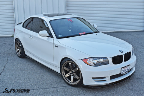BMW 128i (2007-2013) Side Skirt Extensions - FS Performance Engineering