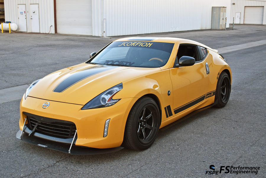 Nissan 370Z (2009-2019) Side Skirt Extensions V1 - FS Performance Engineering