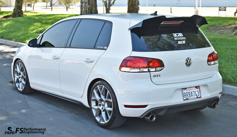 Volkswagen MK6 (2010-2014)  Golf GTI / R Rear Spoiler Extension V1 & V2