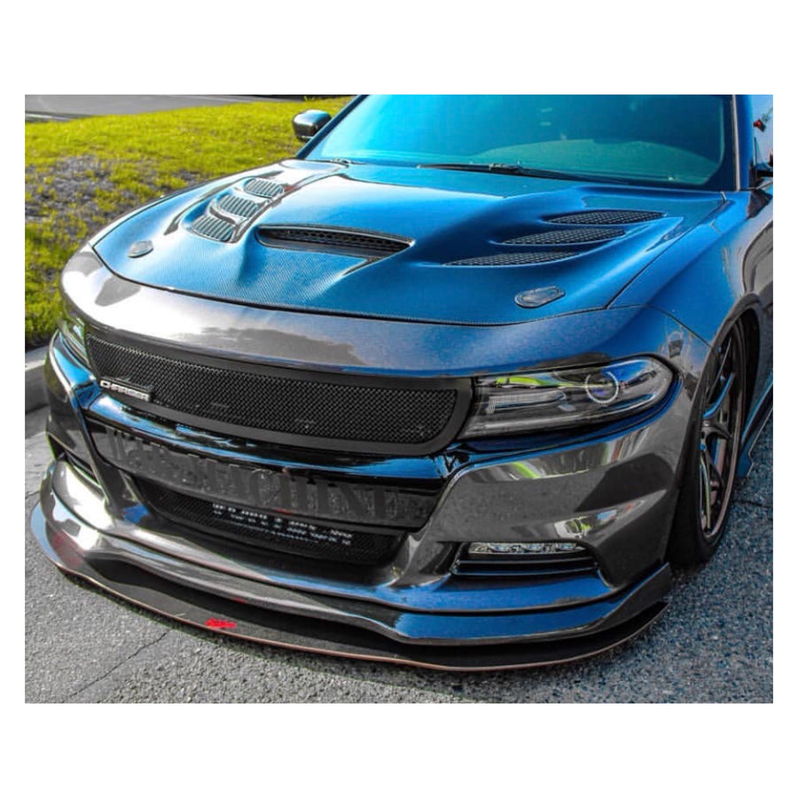 Dodge Charger / Chrysler 300 (2012+) Carbon Fiber Splitter V1