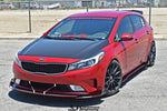 "Kia Forte (2014-2018) Side Skirt Extensions ""LEVELS"" - Chassis Mounted"