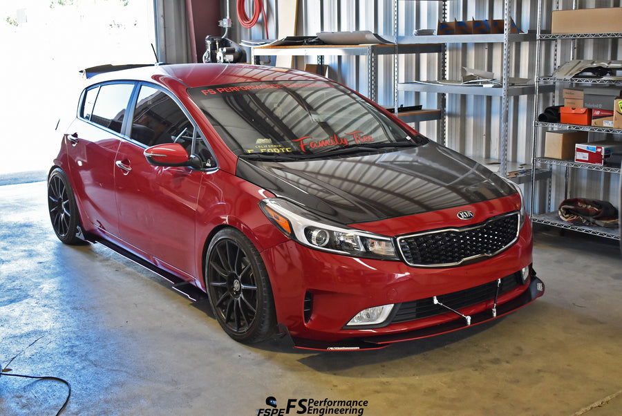Kia Forte (2014-2018) Side Skirt Extensions