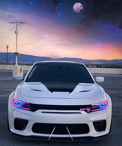 Dodge Charger (2020+ WIDE BODY) Carbon Fiber Splitter V2