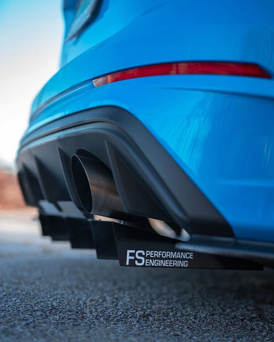"Ford Focus RS 2016-2018 Rear Diffuser ""Wiggle Room"" & Spats - FS Performance Engineering"