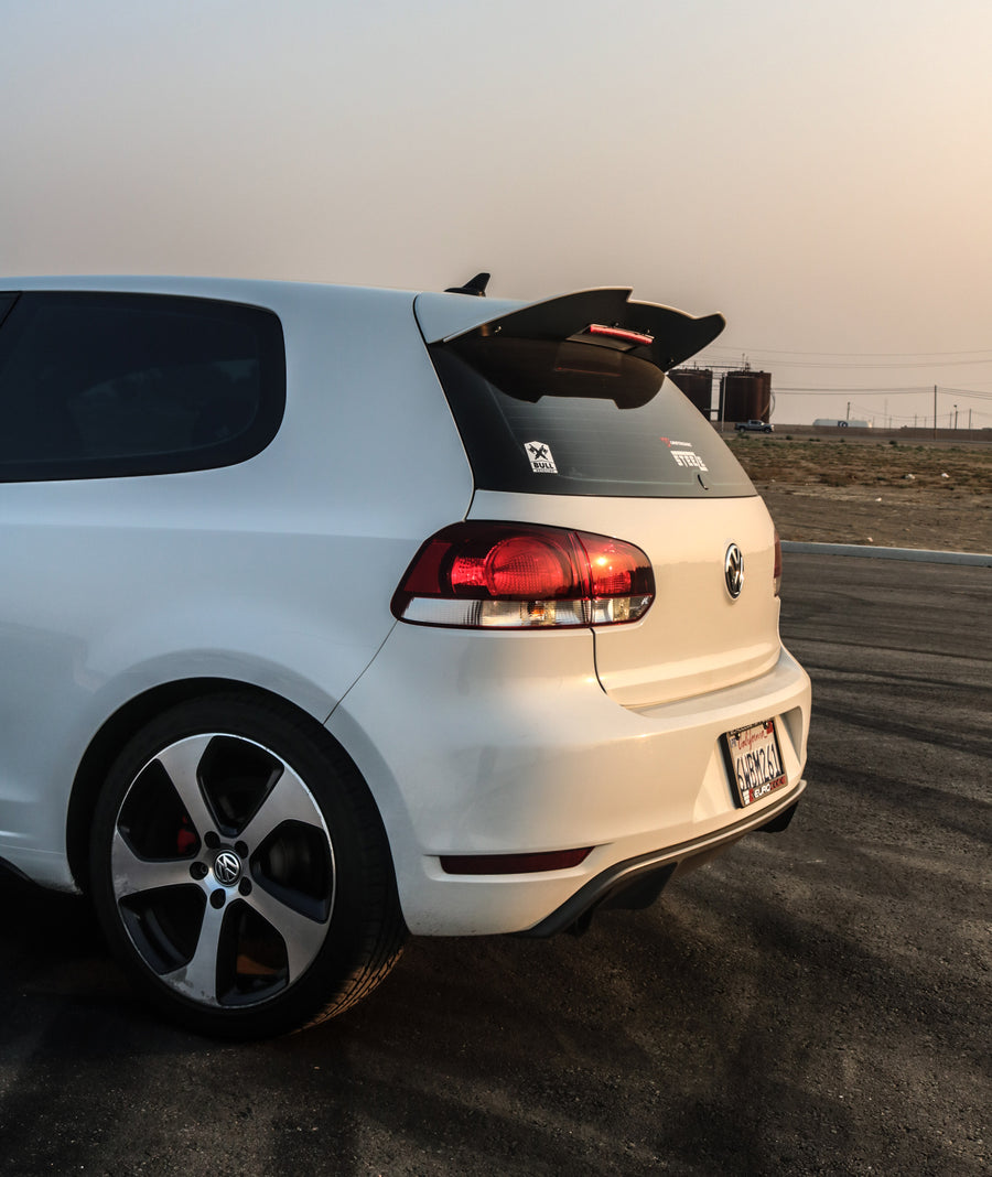 Volkswagen MK6 (2010-2014) Golf GTI / R Rear Spoiler Extension V3