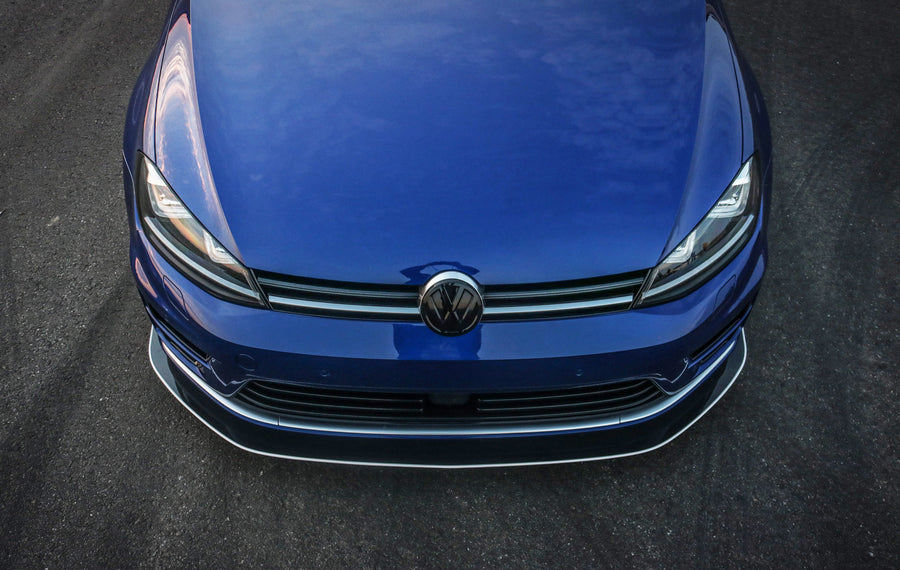 Volkswagen MK7 (2015-2017) Golf R Front Splitter Chassis Mounted