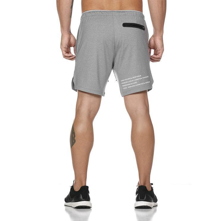 BUY 2 FREE SHIPPING-2019 Men's 2 in 1 New Summer Secure Pocket Shorts - 70% OFF!!