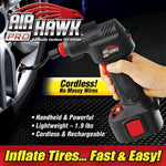 Air Hawk cordless tire inflator