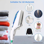 Professional Portable Travel Handheld Garment Steamer [Upgraded 2019 Version]