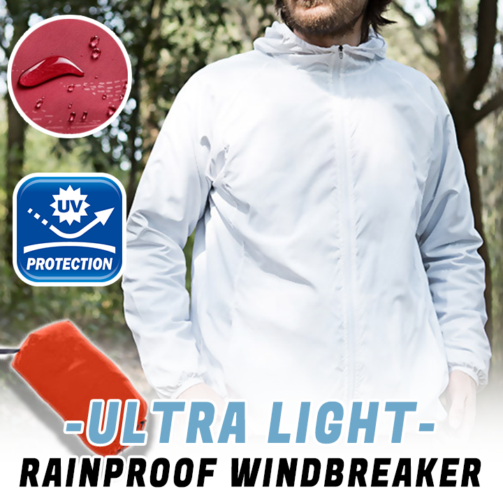 🔥50% OFF TODAY ONLY!!🔥 </br>Ultra-Light Rainproof Windbreaker
