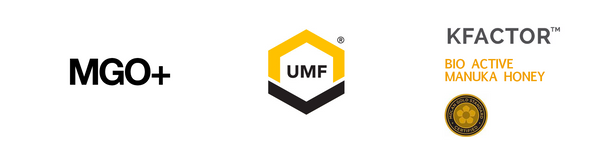 Different Manuka Honey Grading Systems - UMF vs MGO vs BioActive vs KFactor vs MGO