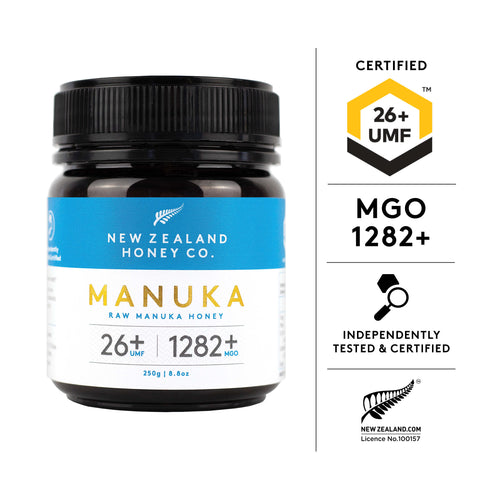UMF, MGO, NewZealand, Manuka, Honey, Tested, Certified, Independent, NZHC