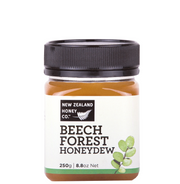 Jar of Beech Forest Honeydew Honey 250g from New Zealand Honey Co