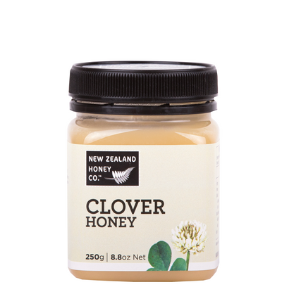 Jar of Clover Honey 250g from New Zealand Honey Co