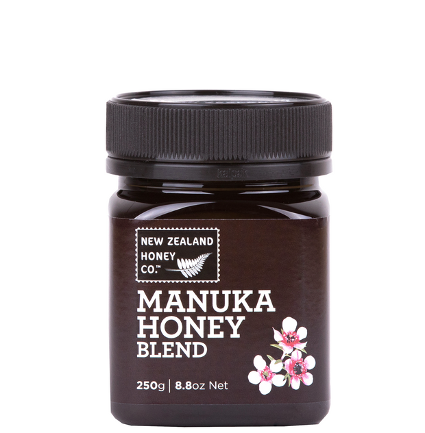 Jar of Manuka Honey Blend 250g from New Zealand Honey Co
