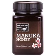 Jar of Manuka Honey MGO 80+ 500g from New Zealand Honey Co